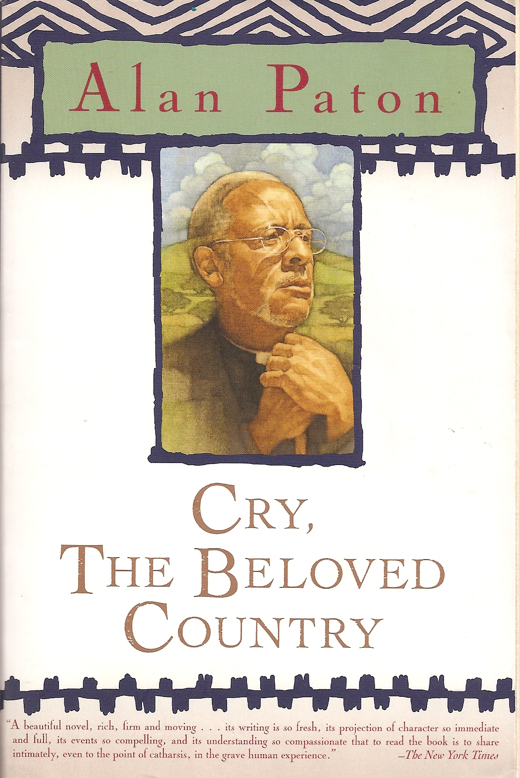 Writing About Reading Cry The Beloved Country
