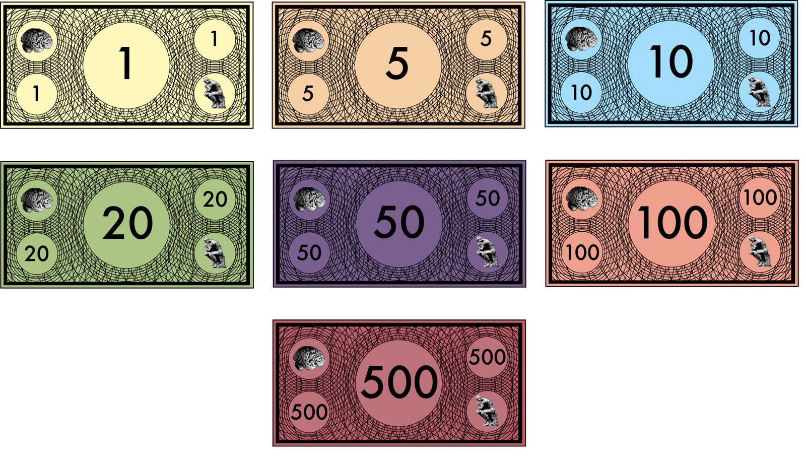 It's just a photo of Printable Monopoly Money intended for $20