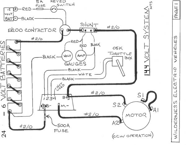 Electric VW Bus Blog: Schematic