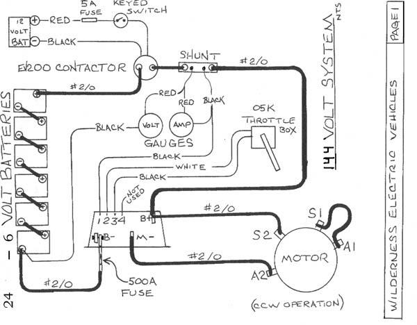 vw bus Motor diagram wiring schematic