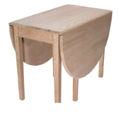 How To: Gate Leg Drop Leaf Table Plans | FREE WOODWORKING ...