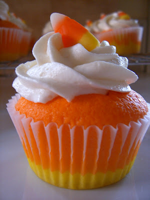 Candy Corn Cupcakes Our Best Bites