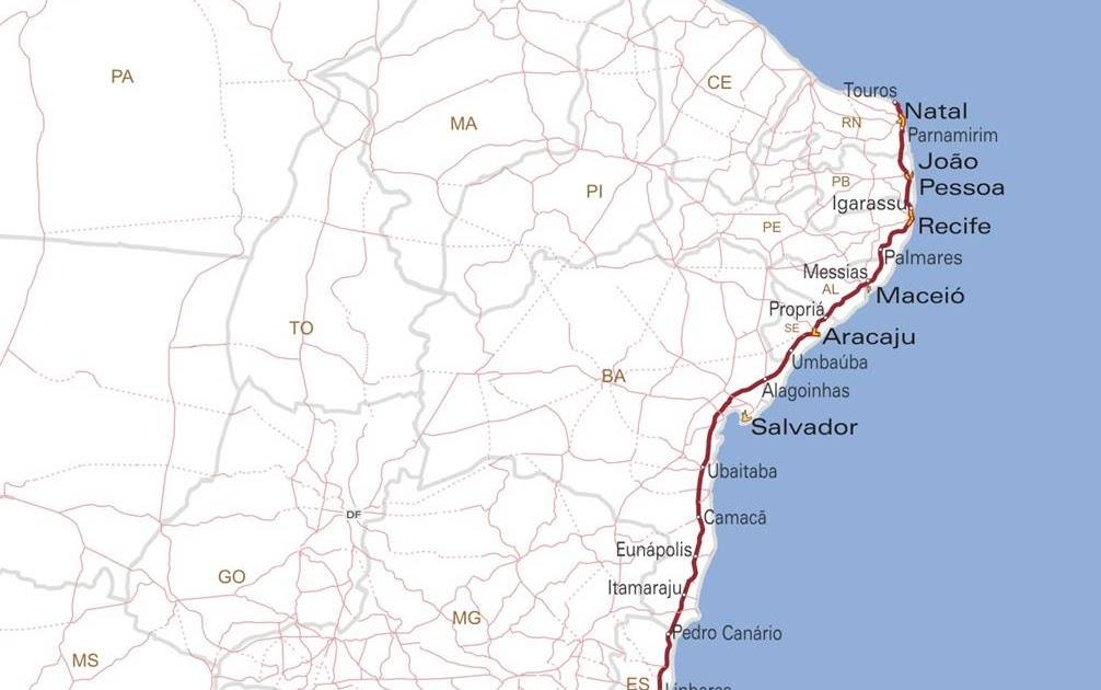 História da Paraíba  Meios de Transportes na Paraíba 6610cb4c74