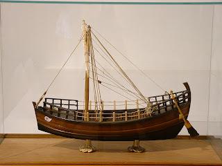 Чертежи древнегреческих судов из картона