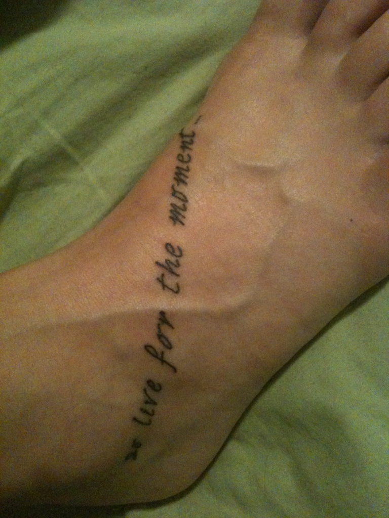 Every Mile A Memory...: New Tattoo!
