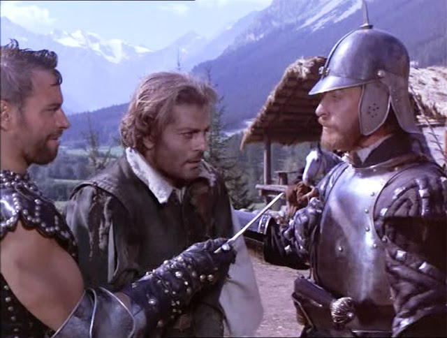 Image result for omar sharif and michael caine in the last valley the movie