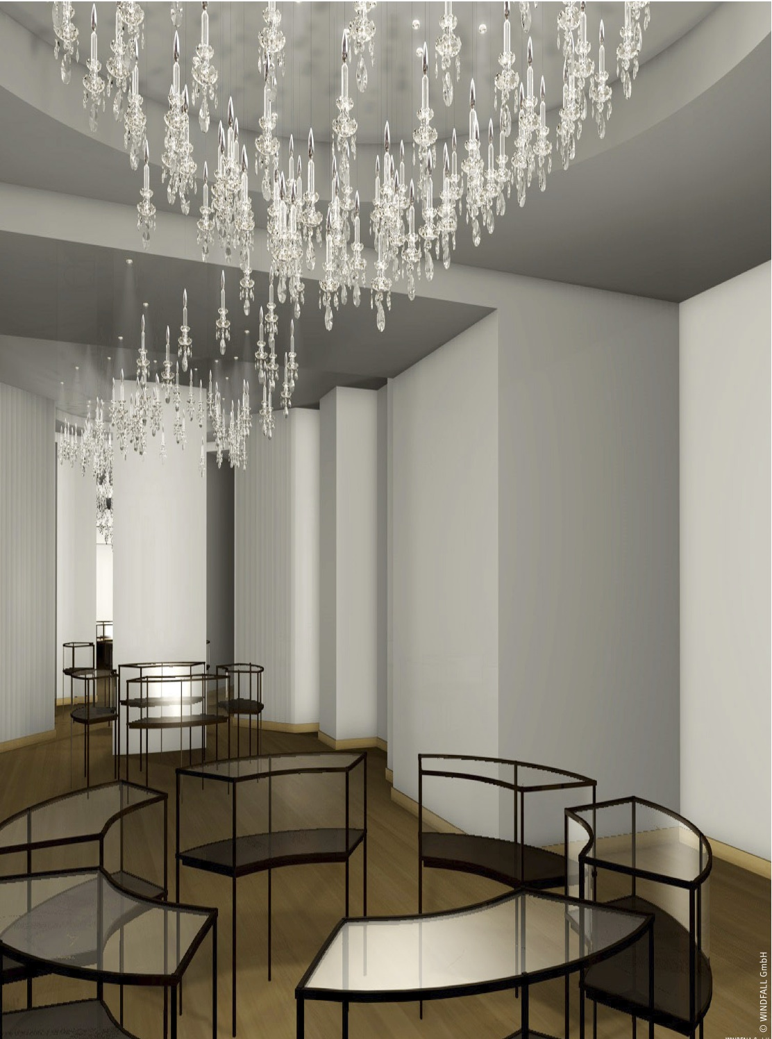 Windfall Contemporary Crystal Lighting Joins Ligné Brasil