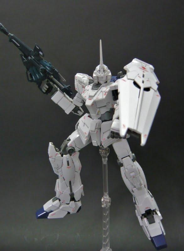 Ren & Tako's Japanese way of life!: MG RX-0 Unicorn Gundam Ver. Ka Completed!! ^^ Part 1 (Unicorn Mode).