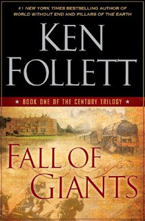Fall of Giants by Ken Follett book cover