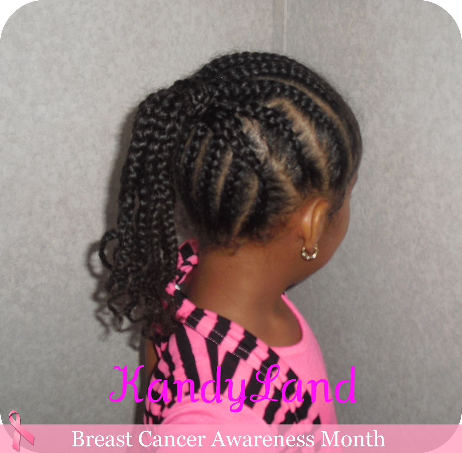 Updated Braided Ponytail. 1547 x 1514.Black Hairstyles Braids Pictures Kids