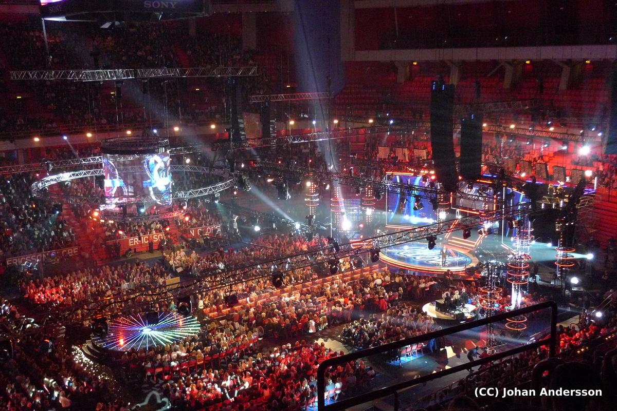 MyRunningHeart: Idol, final 2010 i Globen