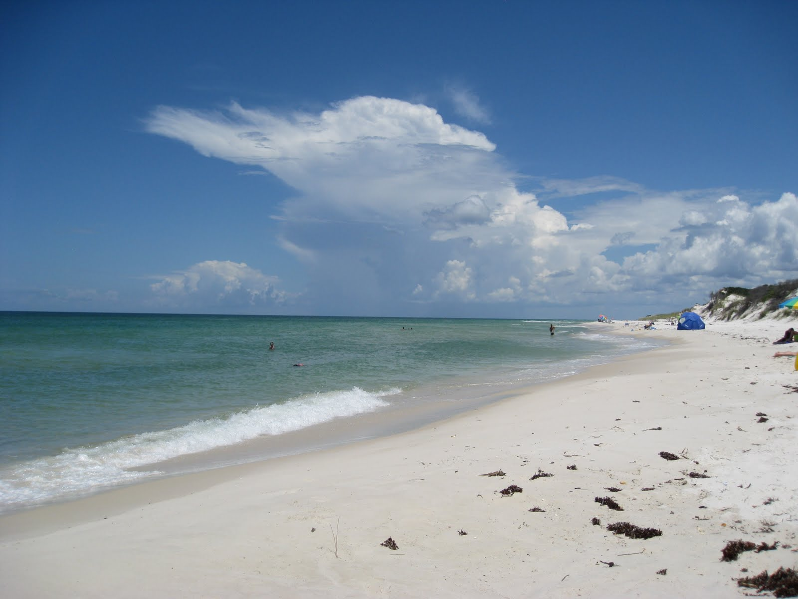 The White Sand Beaches Go On For Miles Each Campground Has It S Section Of Beach So Not Crowded At All Gulf Breeze Is A Little
