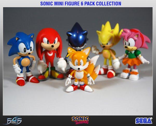 Weirdness Fan Creates Custom Amiibo Of Sonic Characters Nintendo Life