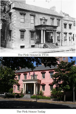 Architecture Preservation Art The Olde Pink House