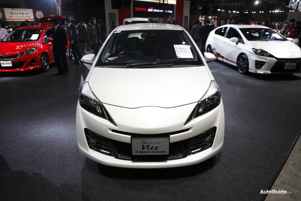 car news ok: Live photos of Vitz G's Concept!