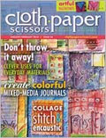 Check out my new article in Cloth Paper Scissors