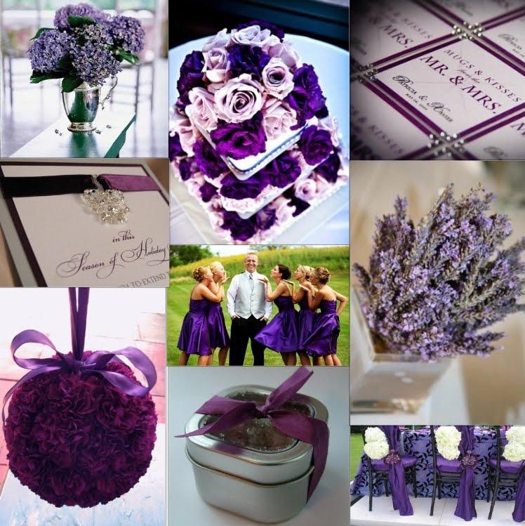 Purple And Black Wedding Ideas: Ini Belog Teacher Mummy .. ^_^: WEdding Tema Purple