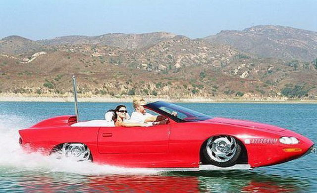 Compilation of Amphibious cars