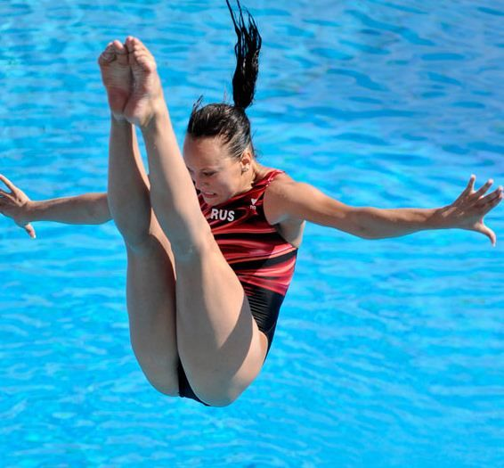 World Cup in diving: Funny facial expressions: 21