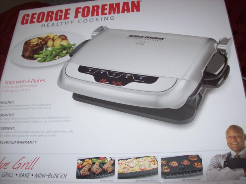 George Foreman Evolve Grill Review The Nutritionist Reviews