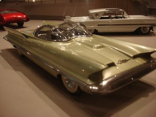 Rockabilly land Lincoln Futura concept Car 1955