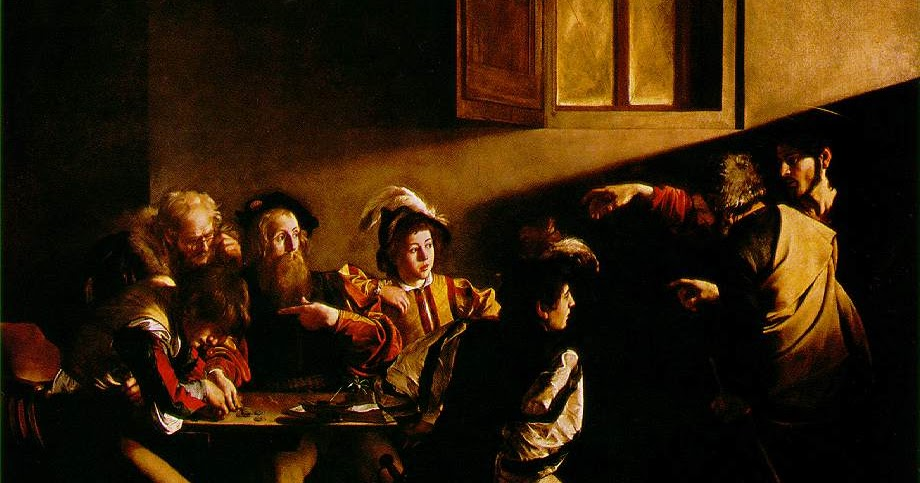 The calling of st matthew caravaggio essay help