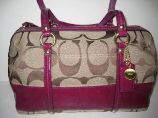 876f27ea5f ... australia coach signature stripe patent satchel 8721c 0c353 top quality  coach duffle bleeker leather handbag ...
