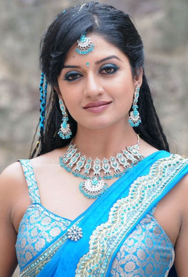 The Cute And Hot Images Vimala Raman In Saree