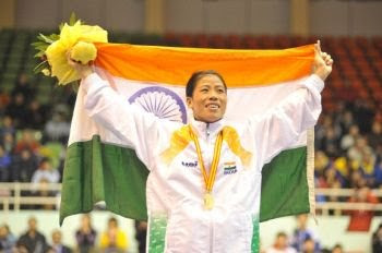 M C Mary Kom - another name for right fighting spirit
