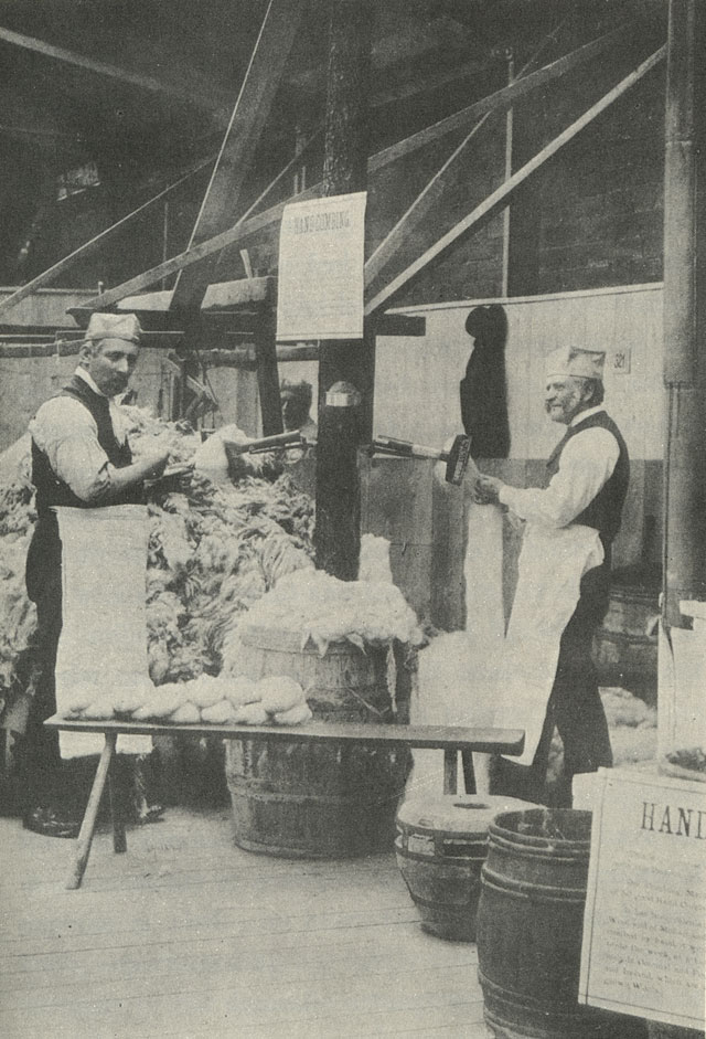 Bancrofts From Yorkshire Woolcombing In Yorkshire A