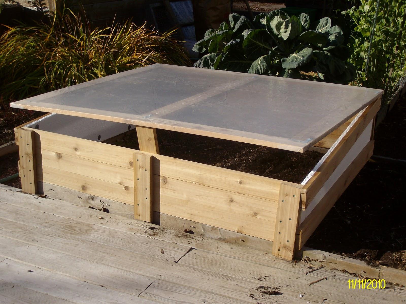 The Gardener of Eden: Building Cold Frames