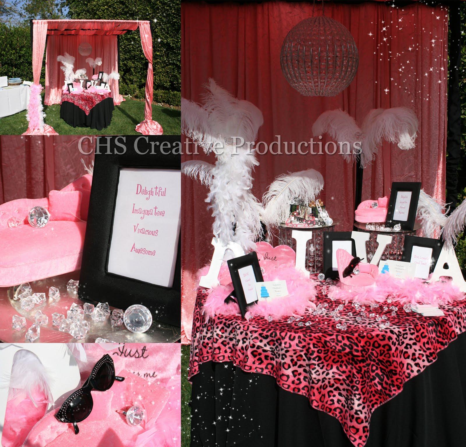 Diva Birthday Decorations