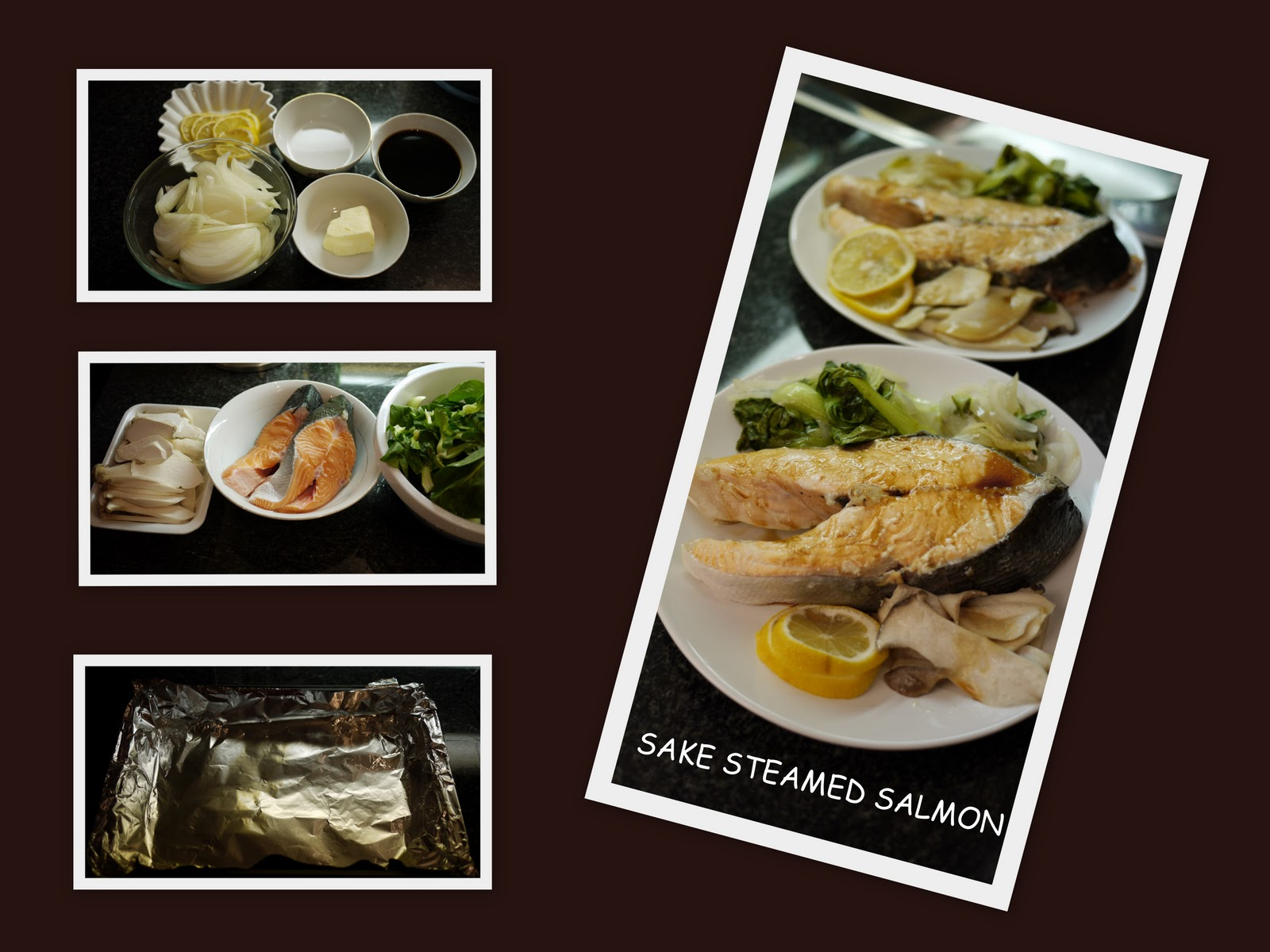 Carol S Kitchen Sake Steamed 清酒蒸鮭魚