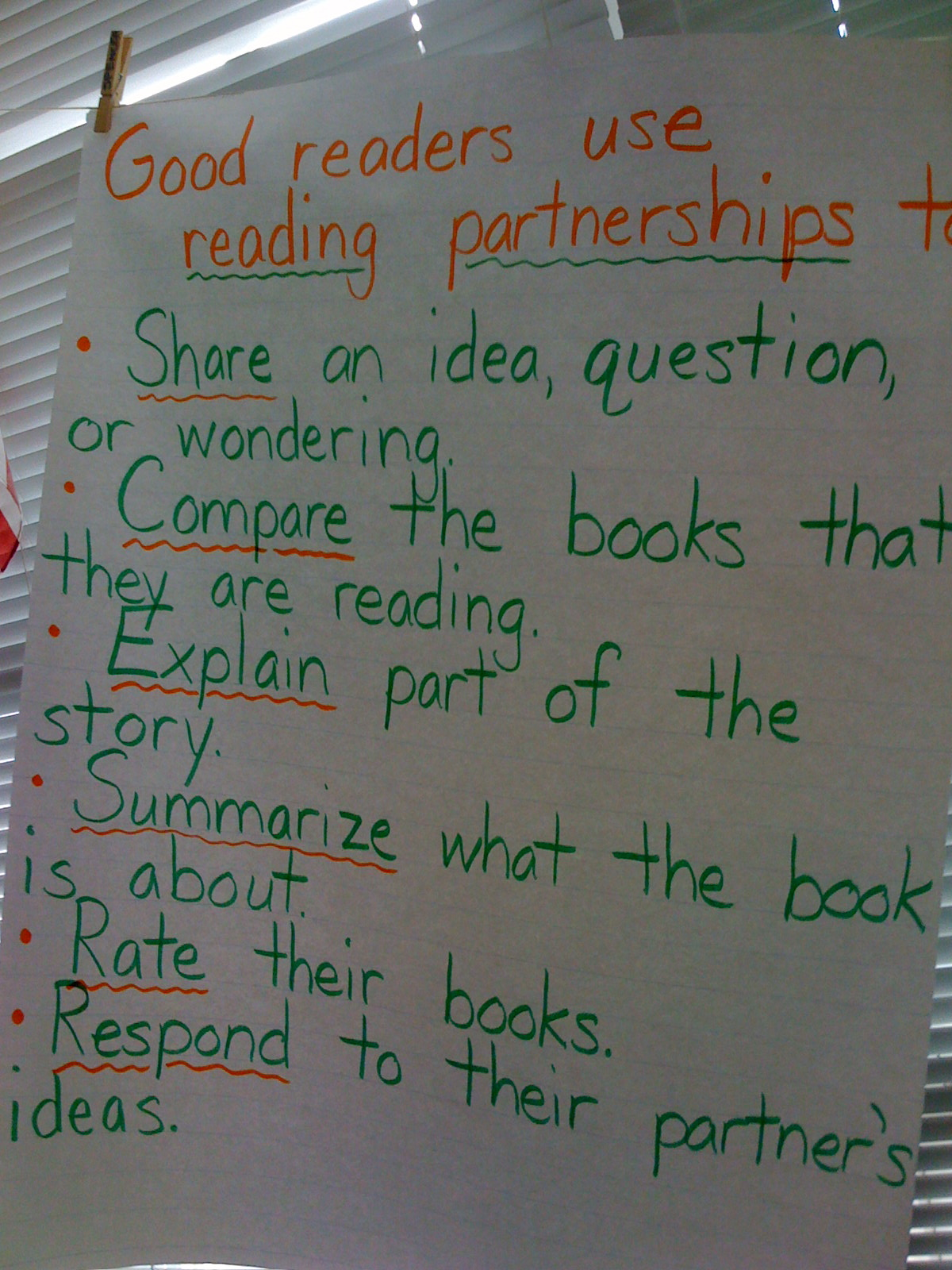 Read  Write  Play : Partnerships and Post-its: Make