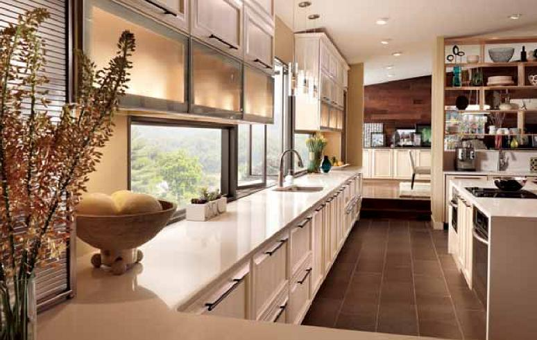 Merillat Maple Kitchen Cabinets With Easy Glide Trays