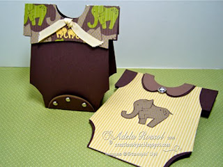 Creations by AR: Baby Onesies Box and Card - Template