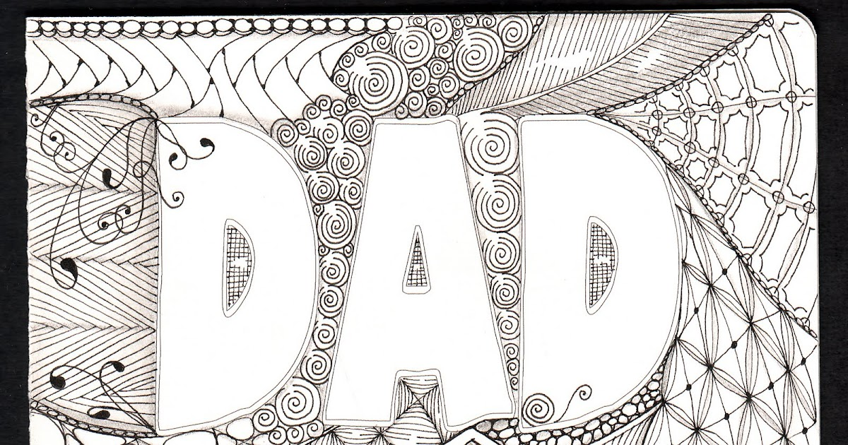Shelly Beauch Dads Birthday Card