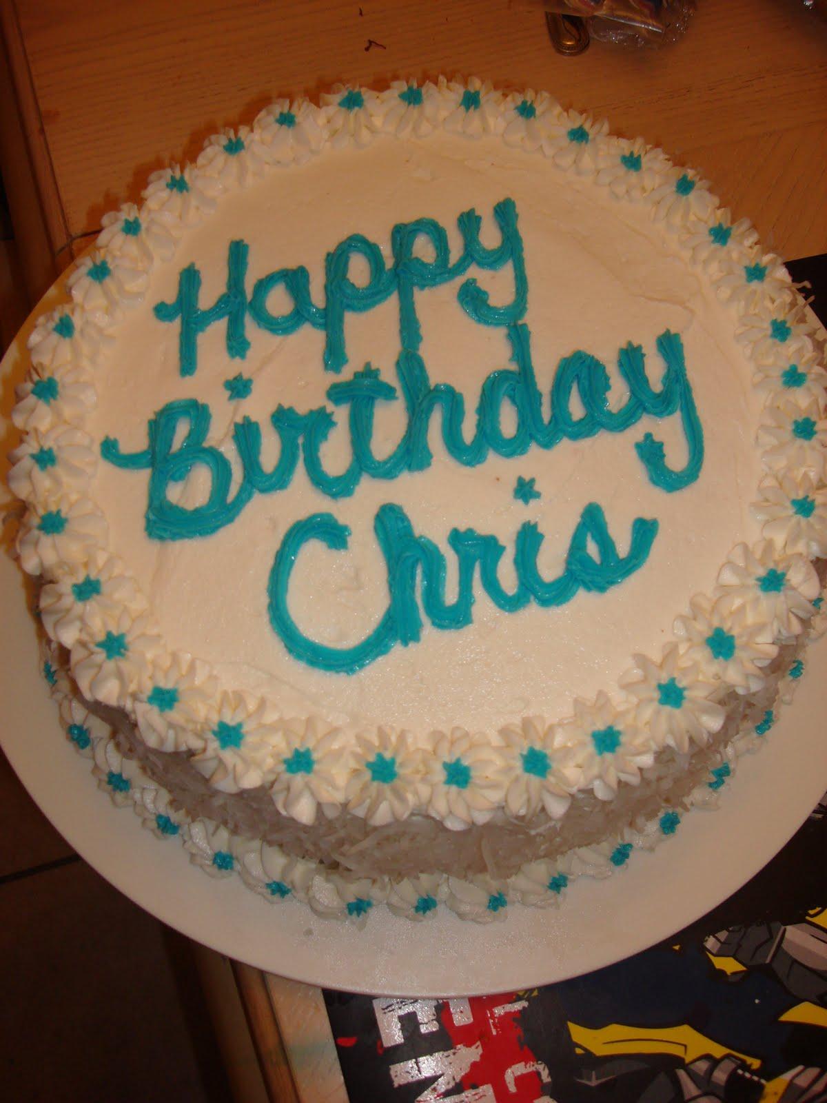 Cakes By Nichole Coconut Birthday Cake