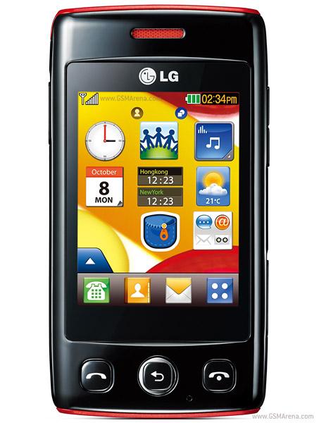 Pdf para lg kp500 software