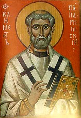 img ST. CLEMENT, Pope of Rome, Hieromartyr