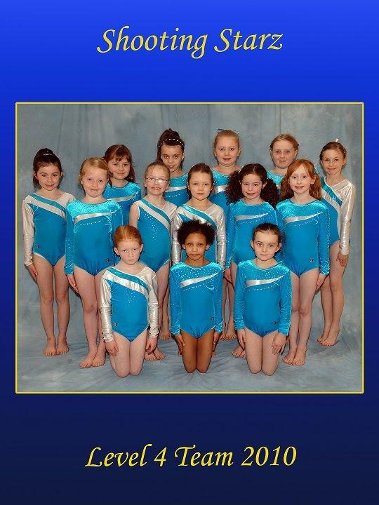 Shooting Starz Gymnastics girlslevel4