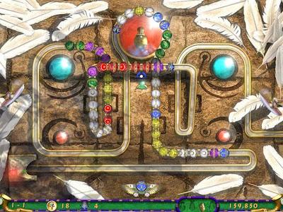 【下載】消磨時間的好遊戲,埃及祖瑪3 (Zuma Luxor 3) 綠色免安裝版!