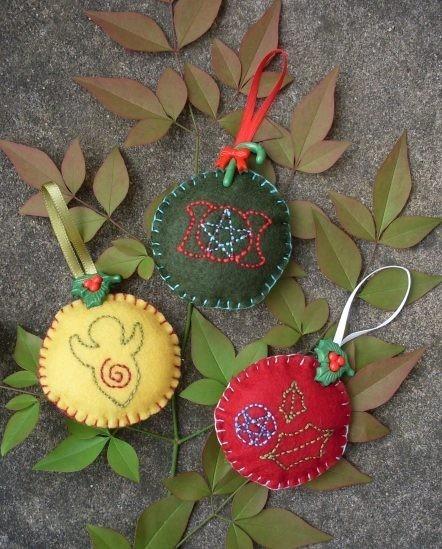 Christmas Tree History Pagan: I Am....: Yule Decorations