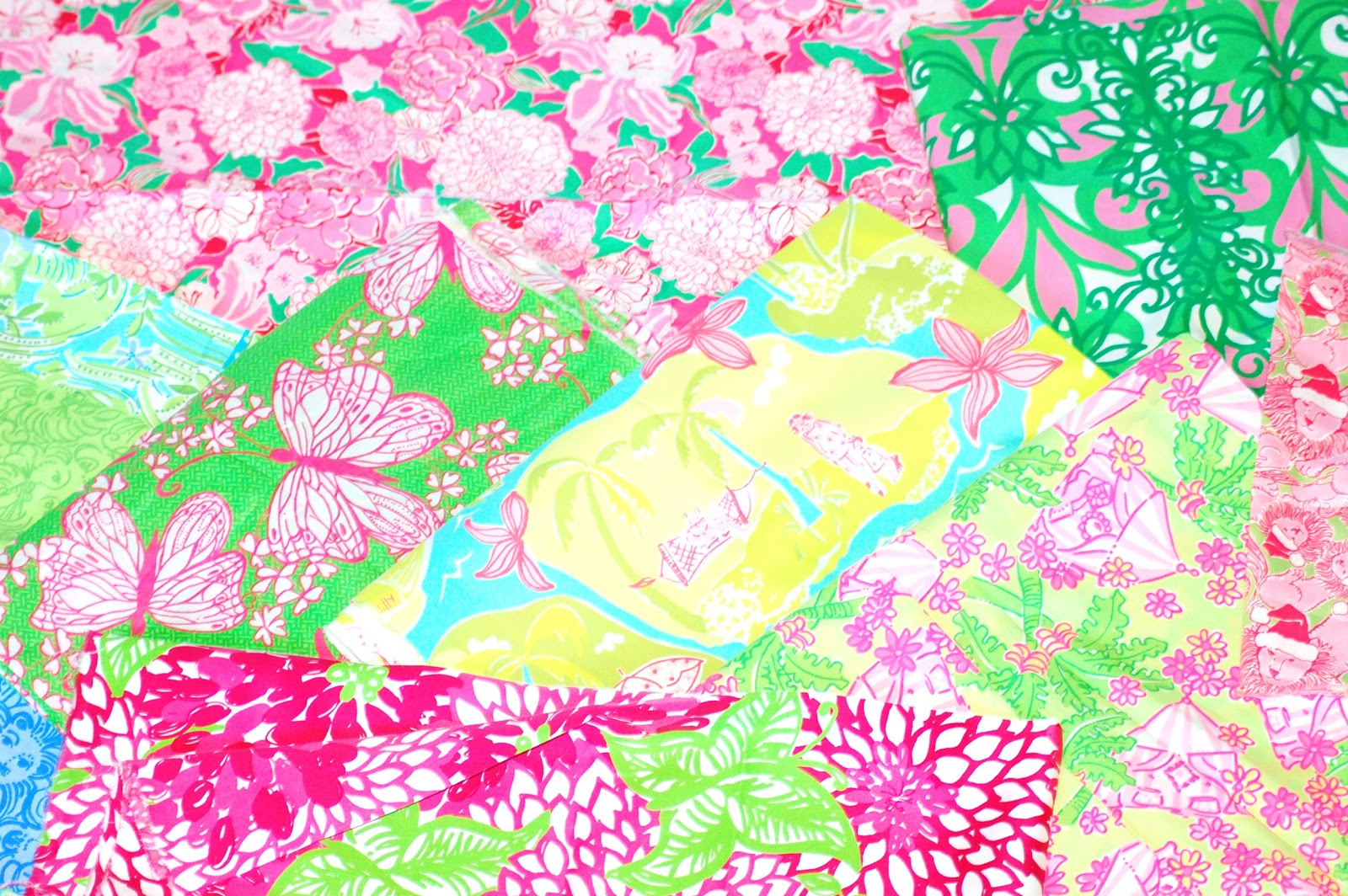 Favorite looking4lilly: New Lilly Pulitzer Fabric Pattern Albums LD69
