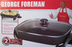Rock Distribution Company George Foreman Electric Skillets