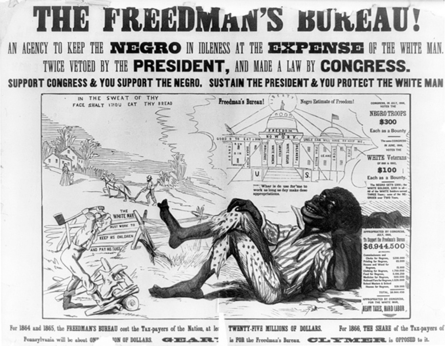 did president andrew johnson help or hinder the process of reconstruction after the civil war On february 24, 1868, something extraordinary happened in the united states congress.