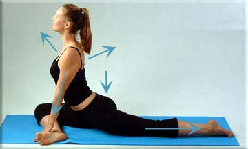 callie's mobile massage blog stretch of the week pigeon pose