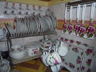 Mekchu Situ Sana Sini Dapur Yang Sangat English Style