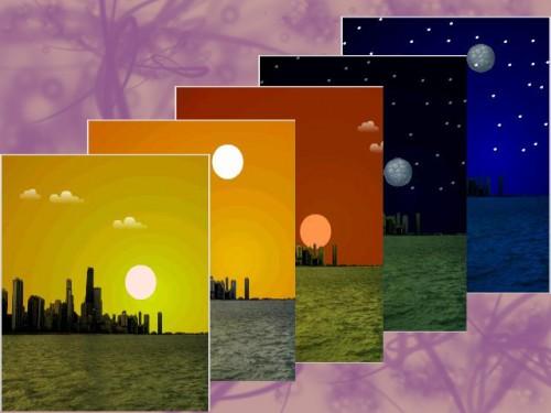 Wallpapers dinamicos para sony ericsson temas windows 7 for Fondo de pantalla que cambia segun la hora del dia
