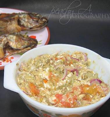 Filipino Eggplant Salad Ala Peanutbutter The Peach Kitchen